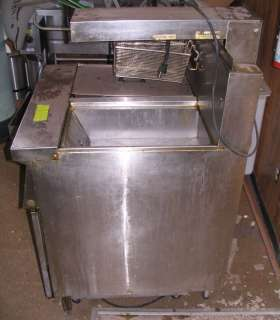 Frymaster Filter Magic II (2) Deep Fat Fryer FM35SC Gas, Restaurant