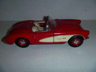 1957 Chevrolet Corvette DieCast Model 124 Scale Franklin Mint