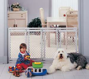 EXTRA WIDE Pet Dog Child Supergate V Gate NS8649 026107086495