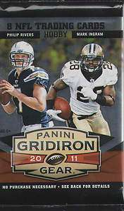 2011 Panini Gridiron Gear Football Factory Sealed Hobby Packs