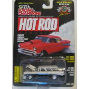 Racing Champions Hot Rod Issue #81 56 Chevy Nomad