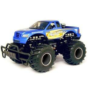 New Bright 16 RC BigFoot Monster Truck Toys & Games