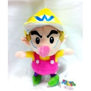 Baby Wario Soft Plush Doll Approx 9